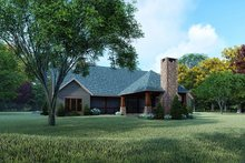 Farmhouse Exterior - Rear Elevation Plan #923-161