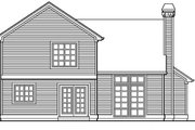 Traditional Style House Plan - 3 Beds 2.5 Baths 1776 Sq/Ft Plan #48-305