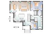 Ranch Style House Plan - 4 Beds 2.5 Baths 2133 Sq/Ft Plan #23-2614 Floor Plan - Main Floor Plan
