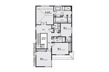 Contemporary Floor Plan - Upper Floor Plan Plan #1066-7