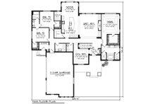 Farmhouse Floor Plan - Main Floor Plan Plan #70-1172