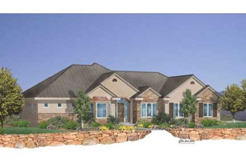 Traditional Style House Plan - 5 Beds 3.5 Baths 3614 Sq/Ft Plan #24-103