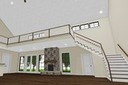 Country Style House Plan - 3 Beds 3.5 Baths 4072 Sq/Ft Plan #923-97 Interior - Family Room