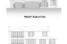 Dream House Plan - Contemporary Exterior - Other Elevation Plan #1066-121