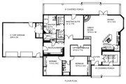Ranch Style House Plan - 3 Beds 2 Baths 2568 Sq/Ft Plan #117-882 Floor Plan - Main Floor Plan