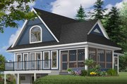 Farmhouse Style House Plan - 2 Beds 1.5 Baths 1482 Sq/Ft Plan #23-525 Exterior - Front Elevation