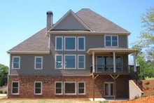 Dream House Plan - Traditional Exterior - Rear Elevation Plan #437-54
