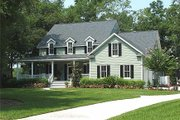 Country Style House Plan - 4 Beds 3.5 Baths 2910 Sq/Ft Plan #137-216 Photo