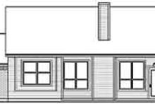 Dream House Plan - Traditional Exterior - Rear Elevation Plan #84-228