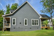 Country Style House Plan - 3 Beds 2 Baths 1647 Sq/Ft Plan #929-647 Exterior - Other Elevation
