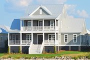 Traditional Style House Plan - 5 Beds 5.5 Baths 3443 Sq/Ft Plan #69-401