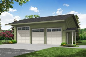 Traditional Exterior - Front Elevation Plan #124-792