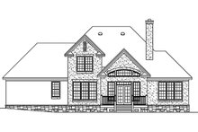 Country Exterior - Front Elevation Plan #929-672