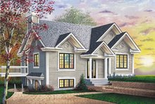 House Plan Design - Modern Exterior - Front Elevation Plan #23-182