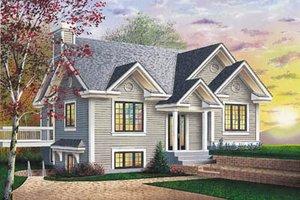 Modern Exterior - Front Elevation Plan #23-182