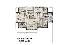 Farmhouse Floor Plan - Upper Floor Plan Plan #51-1148