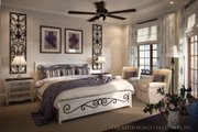 Mediterranean Style House Plan - 3 Beds 2.5 Baths 2191 Sq/Ft Plan #930-12 Interior - Bedroom