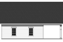 Home Plan - Traditional Exterior - Rear Elevation Plan #21-337