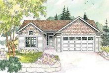 Exterior - Front Elevation Plan #124-594