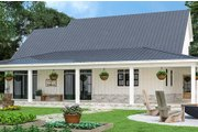Farmhouse Style House Plan - 3 Beds 3.5 Baths 1999 Sq/Ft Plan #119-433 Exterior - Rear Elevation