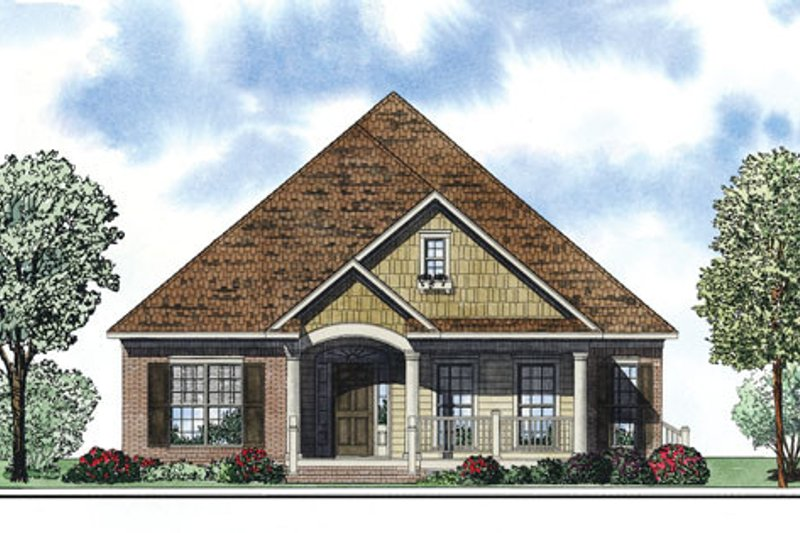 Dream House Plan - European Exterior - Front Elevation Plan #17-2409