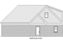 Dream House Plan - Country Exterior - Rear Elevation Plan #932-259