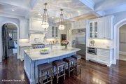 European Style House Plan - 5 Beds 4 Baths 4221 Sq/Ft Plan #929-855 Interior - Kitchen