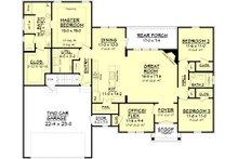 European Floor Plan - Main Floor Plan Plan #430-89
