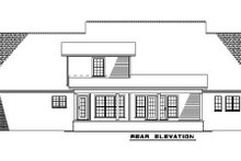 House Plan Design - Traditional Exterior - Rear Elevation Plan #17-1179