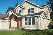 Craftsman Style House Plan - 3 Beds 2.5 Baths 2146 Sq/Ft Plan #1070-60 Exterior - Other Elevation