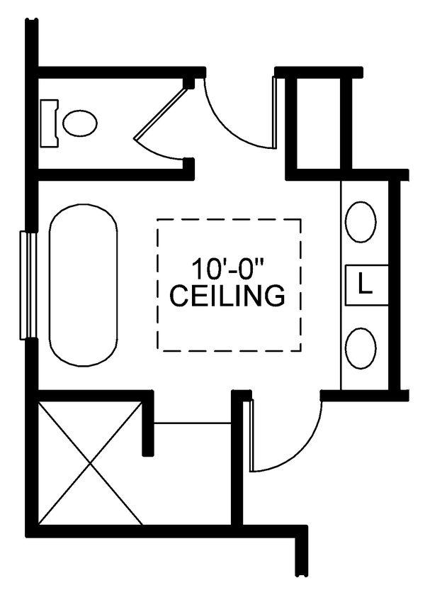 House Plan Design - Traditional Floor Plan - Other Floor Plan #20-2406