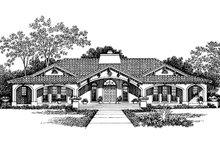 House Plan Design - Mediterranean Exterior - Front Elevation Plan #72-150