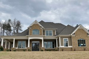 Traditional Exterior - Front Elevation Plan #437-56