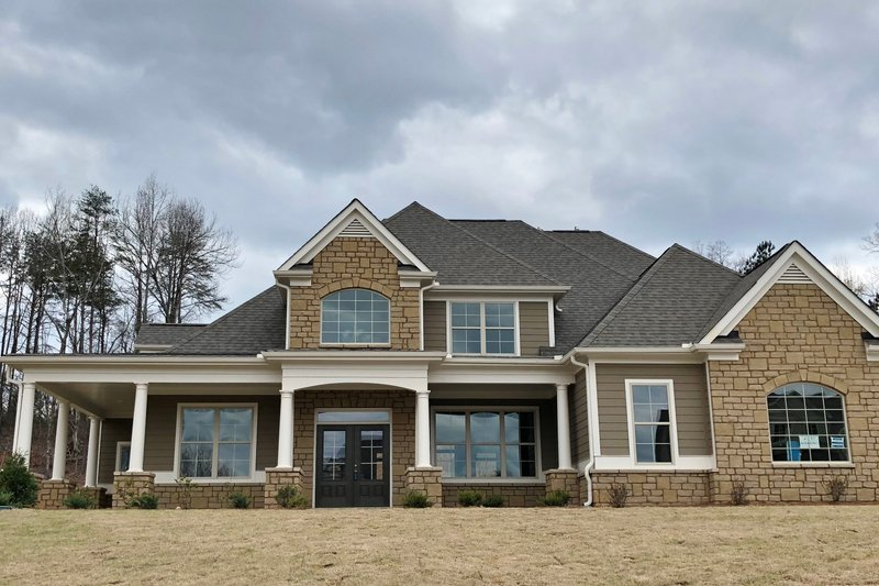 Architectural House Design - Traditional Exterior - Front Elevation Plan #437-56