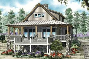 Farmhouse Exterior - Front Elevation Plan #17-2359
