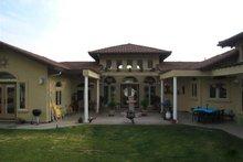 House Design - Adobe / Southwestern Exterior - Rear Elevation Plan #451-19