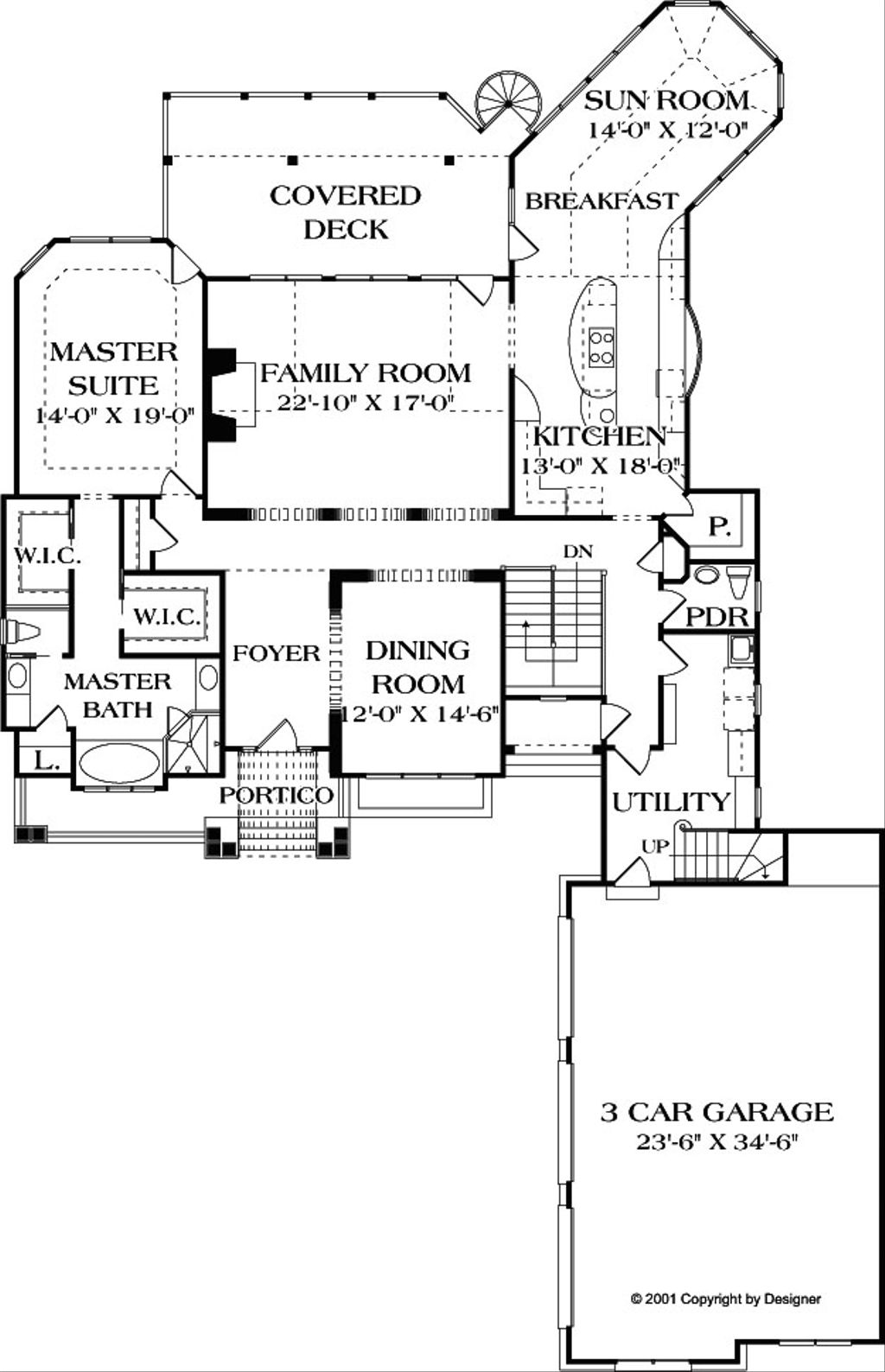 Craftsman style house plan 4 beds 4 5 baths 4304 sq ft for Craftsman style bed plans