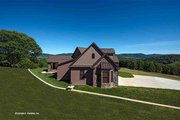 European Style House Plan - 4 Beds 3 Baths 2950 Sq/Ft Plan #929-29 Exterior - Other Elevation
