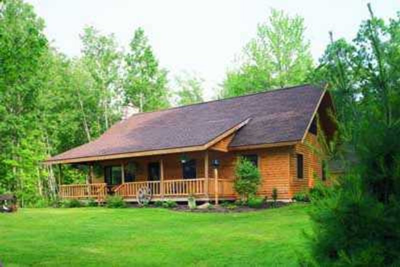 House Blueprint - Cottage Exterior - Front Elevation Plan #72-117