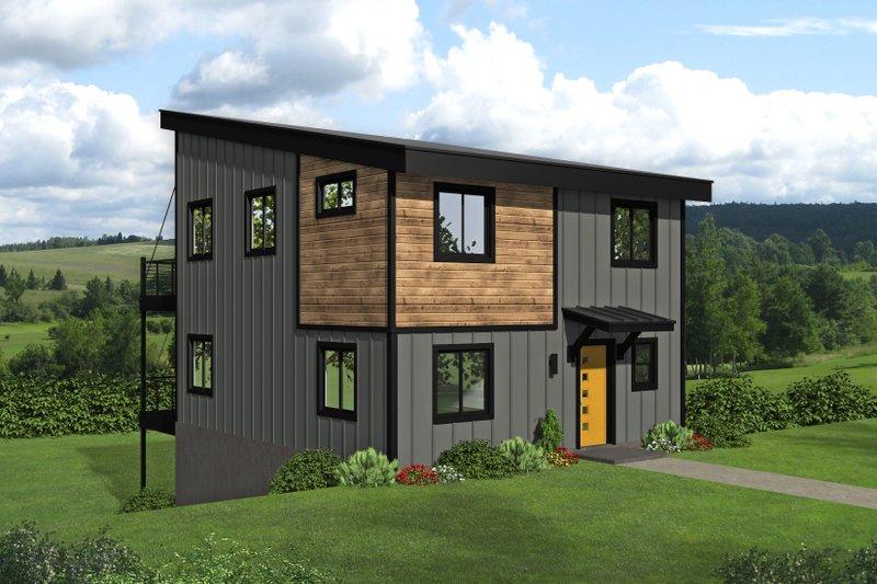 House Plan Design - Modern Exterior - Front Elevation Plan #932-423