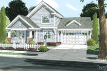 House Plan Design - Craftsman Exterior - Front Elevation Plan #513-2054