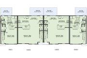 European Style House Plan - 3 Beds 2.5 Baths 6164 Sq/Ft Plan #17-2455 Floor Plan - Main Floor