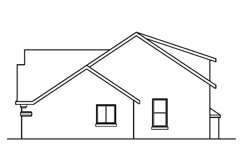 Traditional Exterior - Other Elevation Plan #124-354 - Houseplans.com