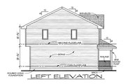 Traditional Style House Plan - 3 Beds 2.5 Baths 1297 Sq/Ft Plan #20-2105 Exterior - Other Elevation