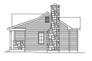 Cottage Style House Plan - 1 Beds 1 Baths 781 Sq/Ft Plan #22-567 Exterior - Other Elevation
