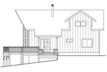House Design - Cabin Exterior - Other Elevation Plan #124-1158