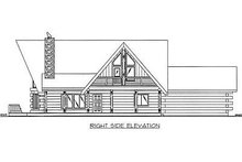 Log Exterior - Other Elevation Plan #117-503