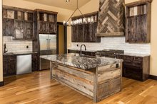 Ranch Interior - Kitchen Plan #895-29