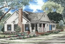 House Plan Design - Traditional Exterior - Front Elevation Plan #17-142
