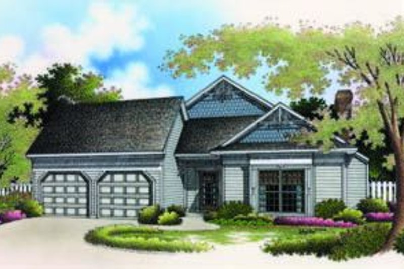 Traditional Exterior - Front Elevation Plan #45-188
